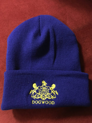 Horses Beanie Royal/Gold OS