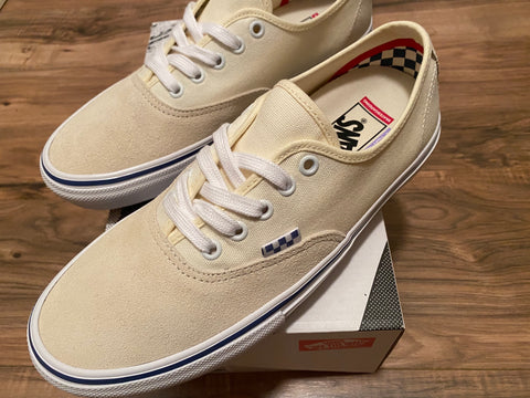 Skate Authentic Shoe Off Wht (size options listed)
