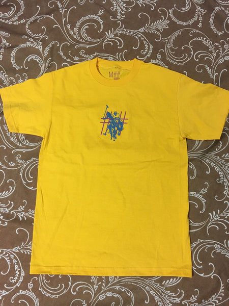 Polo S/S Tee Shirt Gold (size options listed)