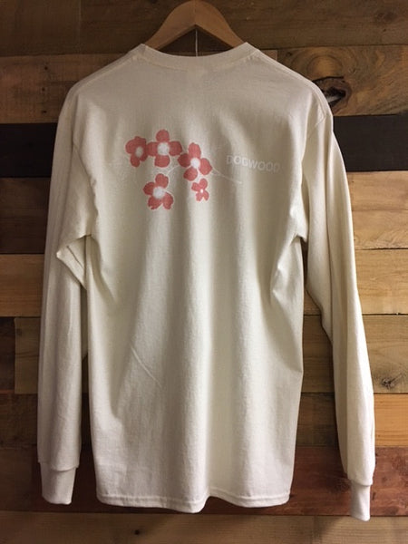 Flowers On Back L/S Tee (color & size options listed)