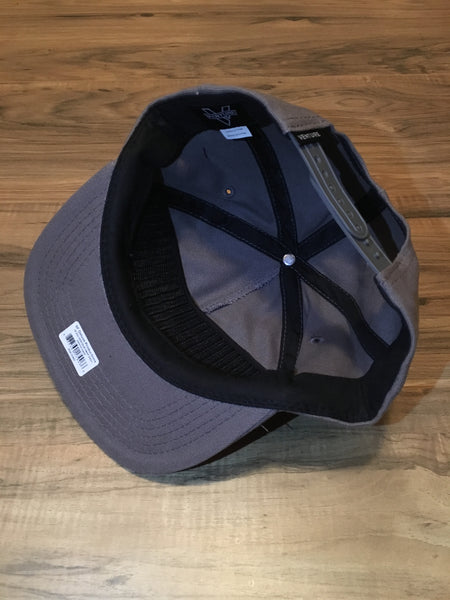 Heritage Adjustable Snapback Hat Gry OS