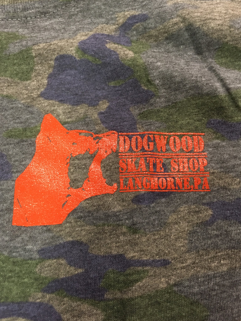 Mad Dog Toddler S/S Tee Shirt Vintage Camo (size options listed)