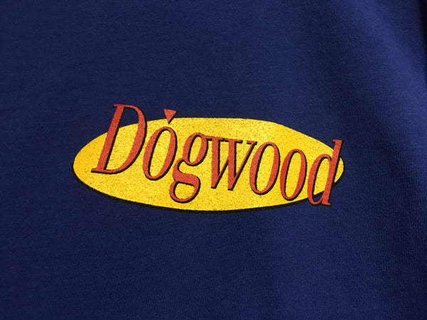 The Dogwood Show S/S Tee Navy (size options listed)