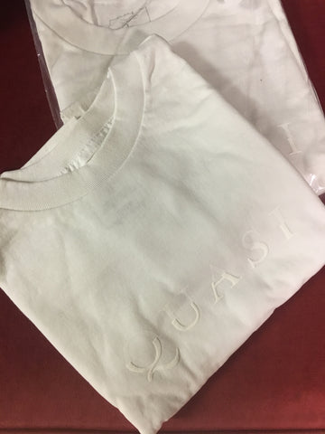 1 Word S/S Tee Shirt Wht (size options listed)