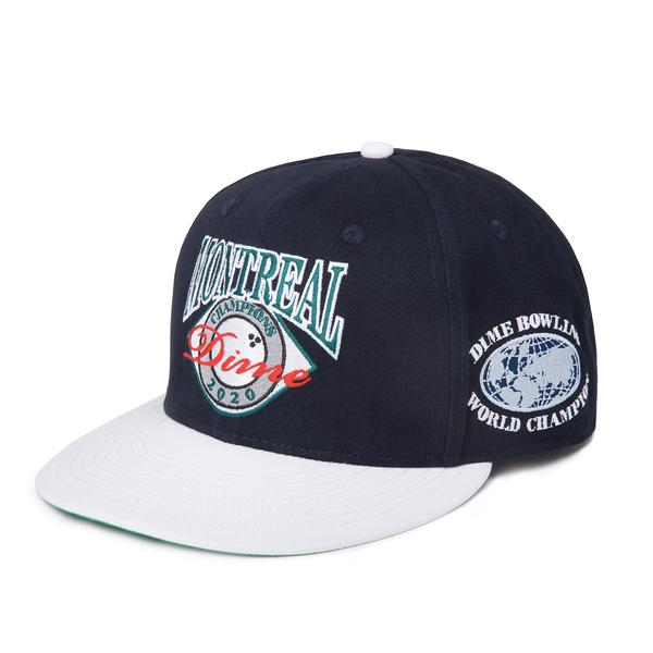 Montreal Champion Snapback Adjustable Hat Nvy OS