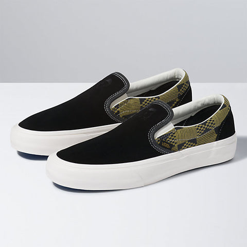 Michael February Classic Slip - On SF Shoe Blk/Olv (size options listed)