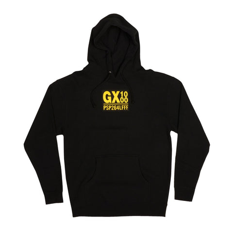 PSP264LFFF Pullover Hoodie Blk (size options listed)