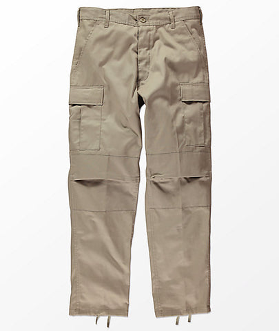 Flowers BDU Cargo Pants Khaki (size options listed)