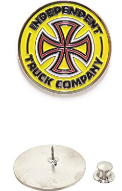 Combo Push Back Pin Yellow OS