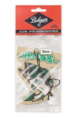 Bass Air Freshener Pine Scent OS