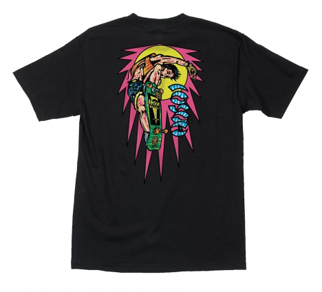 Hosoi Rocket Mini Air Pro S/S Tee Shirt Blk (size options listed)