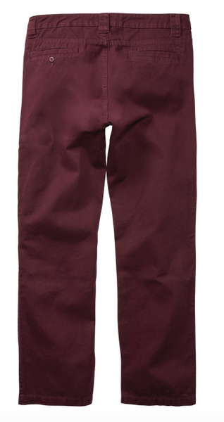 Defy Chino Pant Eggplant (size options listed)