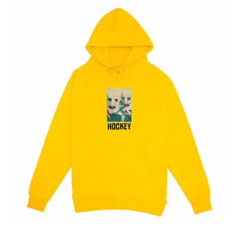 Baghead Pullover Hoodie Gold (size options listed)
