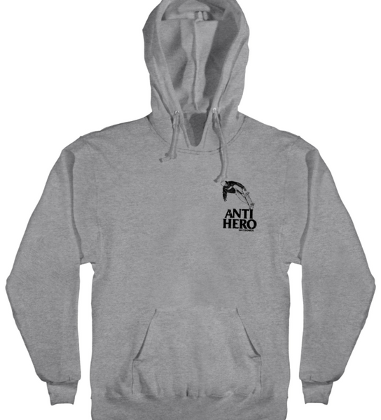 Lance Kanfoush Pullover Hoodie Gunmetal Heather W/Blk (size options listed)