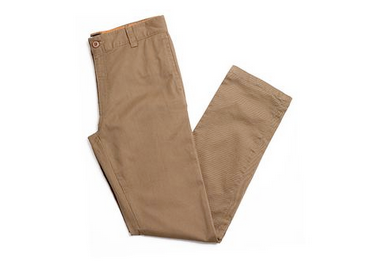 Clayton Stretch Chino Pants Tobacco (size options listed)