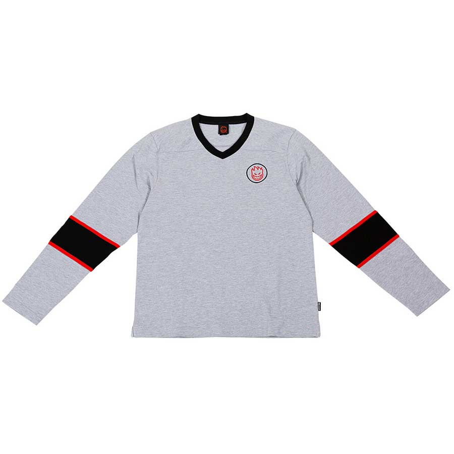 Goon L/S Shirt HthGry/Blk/Red (size options listed)