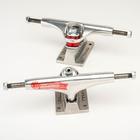 Team Hollow Titanium Polished Trucks Silv/Raw (size options listed)
