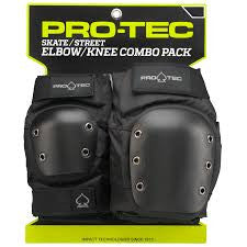 Street Knee/Elbow Pad Set Blk