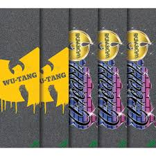 Wu-Tang Clan Mob Griptape 9X33 (graphic options listed)
