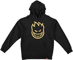 Bighead Pullover Hoodie Blk/Ylw Youth (size options listed)
