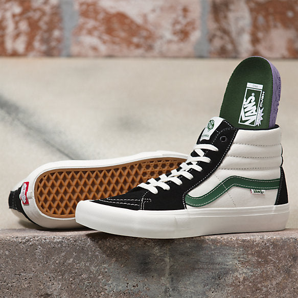 Sk8-Hi Pro Shoe Blk/Alpine (size options listed)