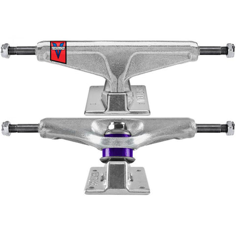 All Polished V Hollow Hi Trucks (size options listed)