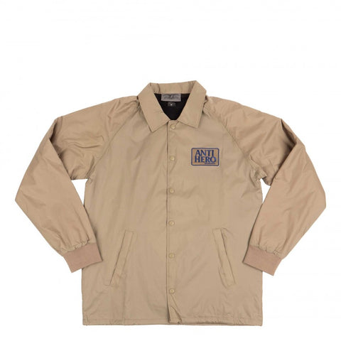 Reserve Patch Coaches Jacket Khaki (size options listed)