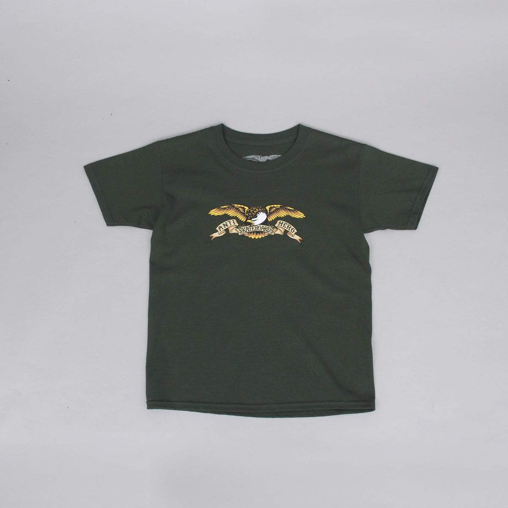 Eagle S/S Tee Shirt Military Grn Youth (size options listed)