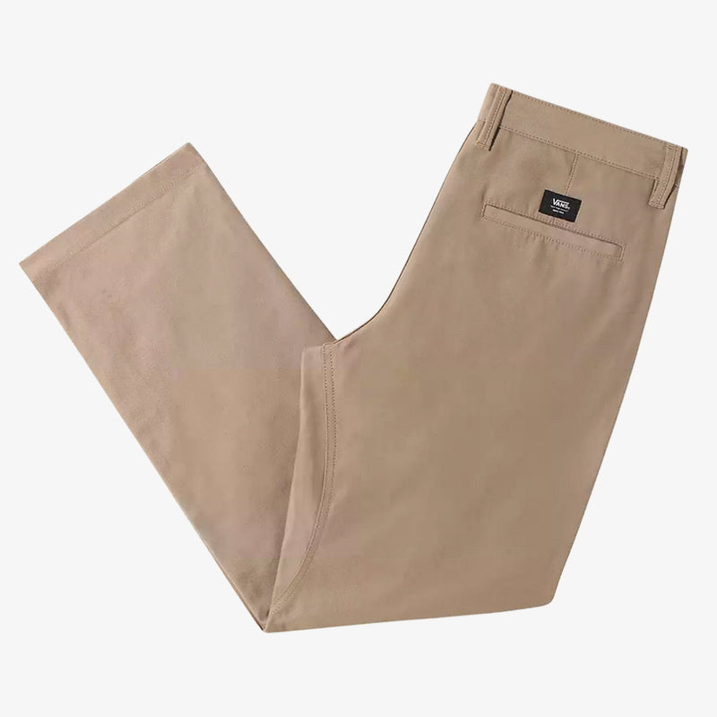 Authentic Chino Relaxed Fit Glide Pro Pants Military Khaki (size options listed)