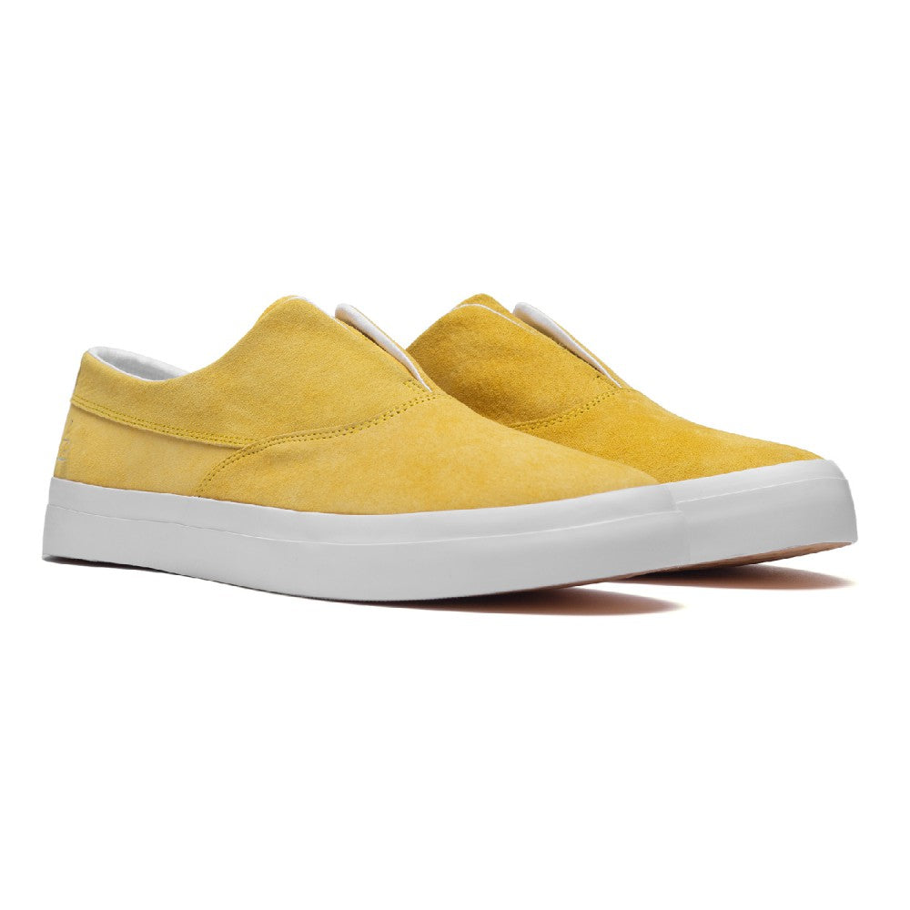 Dylan Slip On Pro Shoes Ylw Suede (size options listed)