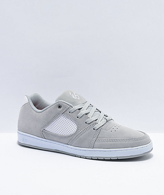 Accel Slim Shoe Gry/Wht (size options listed)