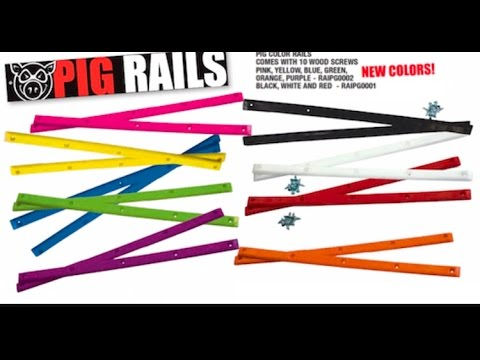 Pig Board Rails (color options listed)
