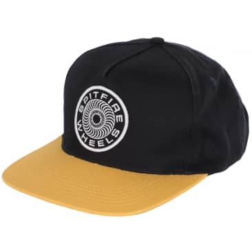 Classic 87 Swirl Patch Adjustable Snapback Hat Nvy/Ylw OS