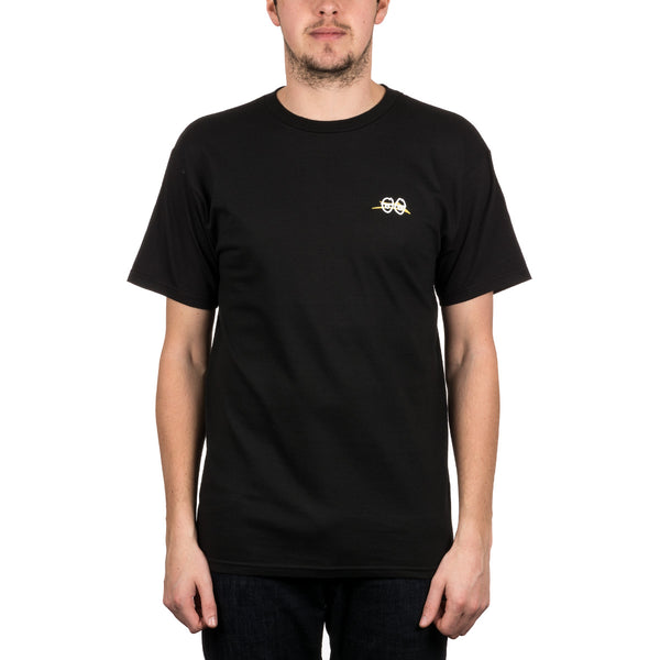 Krooked Collab Tee Blk (size options listed)