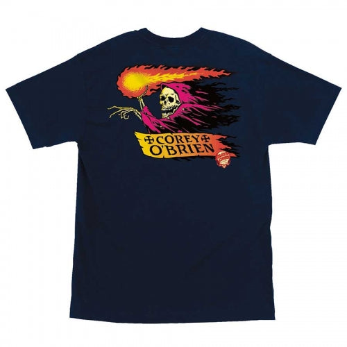 Obrien Reaper S/S Tee Shirt Navy (size options listed)