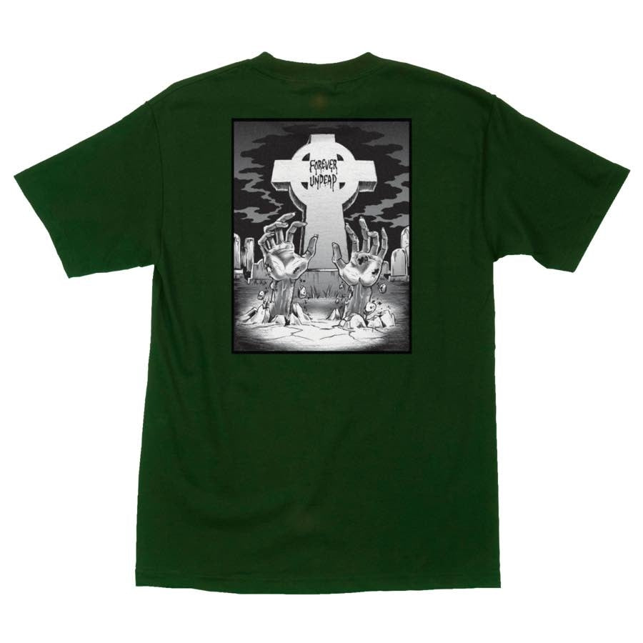Forever Undead S/S Tee Shirt Forest Grn (size options listed)