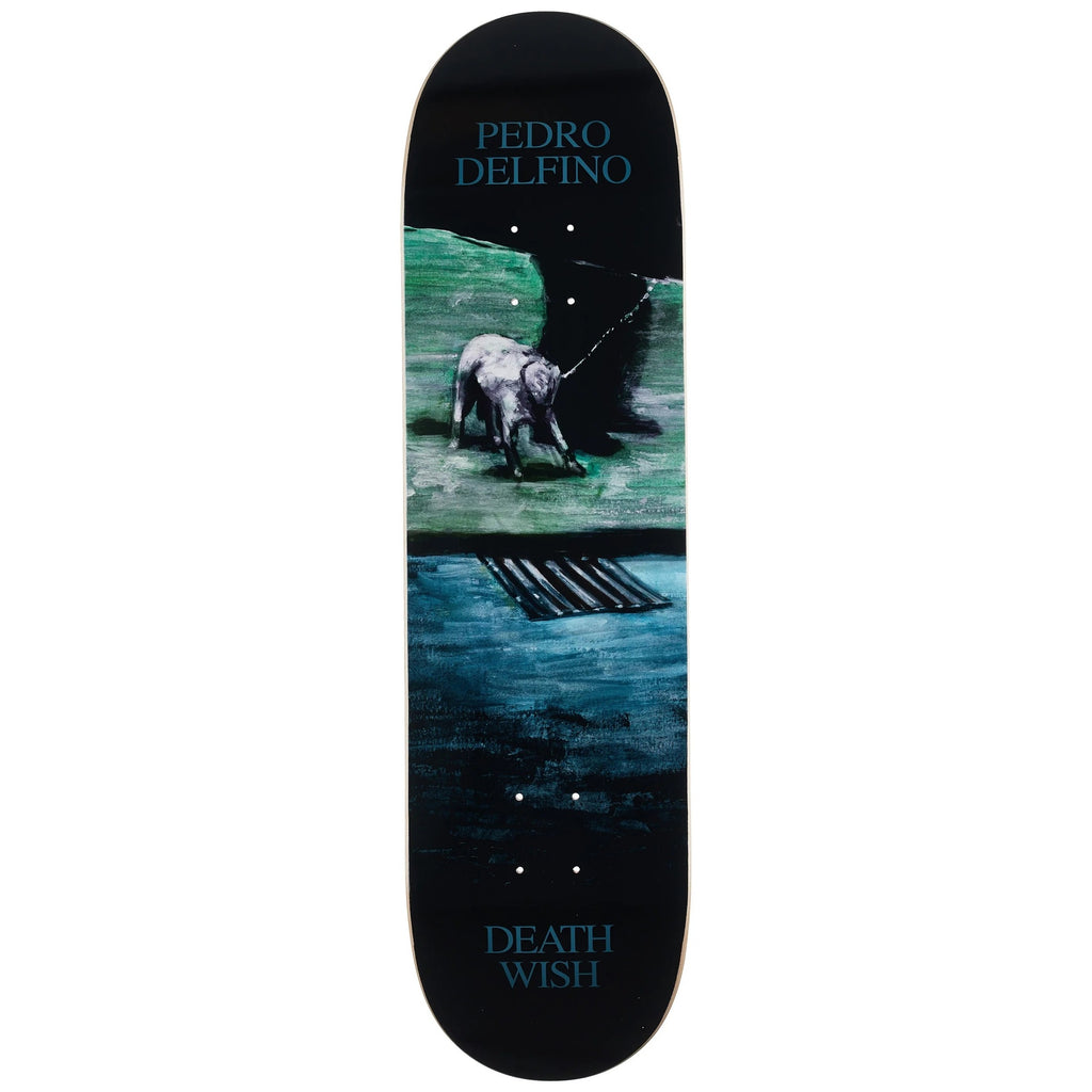 Pedro Delfino Dro With Dog Pro Deck 8.25 X 31.5