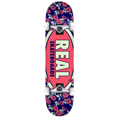 Oval Blossoms Complete Skateboard 7.75