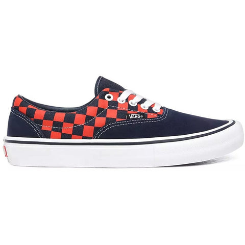 Checkerboard Era Pro Shoe Nvy/Org (size options listed)