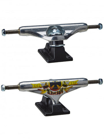 Stage 11 Hollow Wes Kremer All Day Pro Trucks Silv/Blk (size options listed)