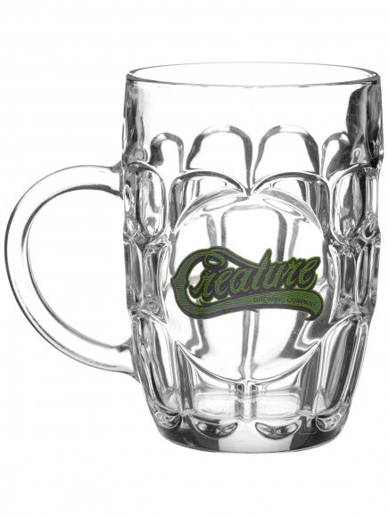 Hesh Brue Glass Mug Clear OS