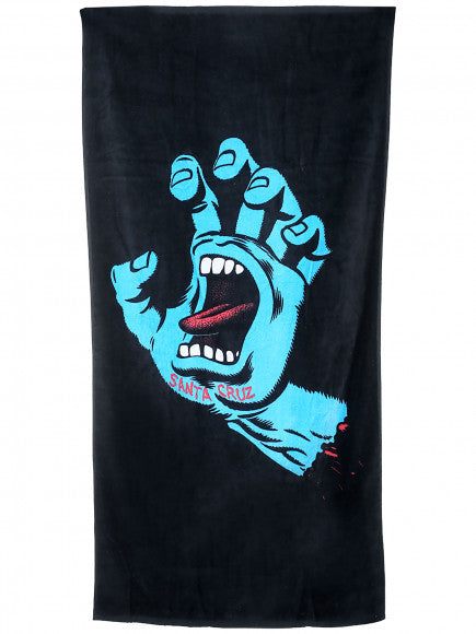 Screaming Hand 64in X 32.5in Towel