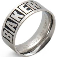 Brand Logo Ring Silver Small