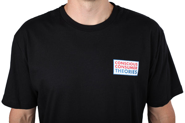 Consumer Sphinx S/S Tee Shirt Blk (size options listed)