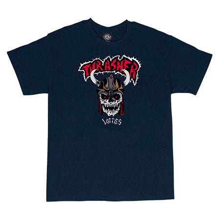 Lotties S/S Tee Shirt Navy (size options listed)