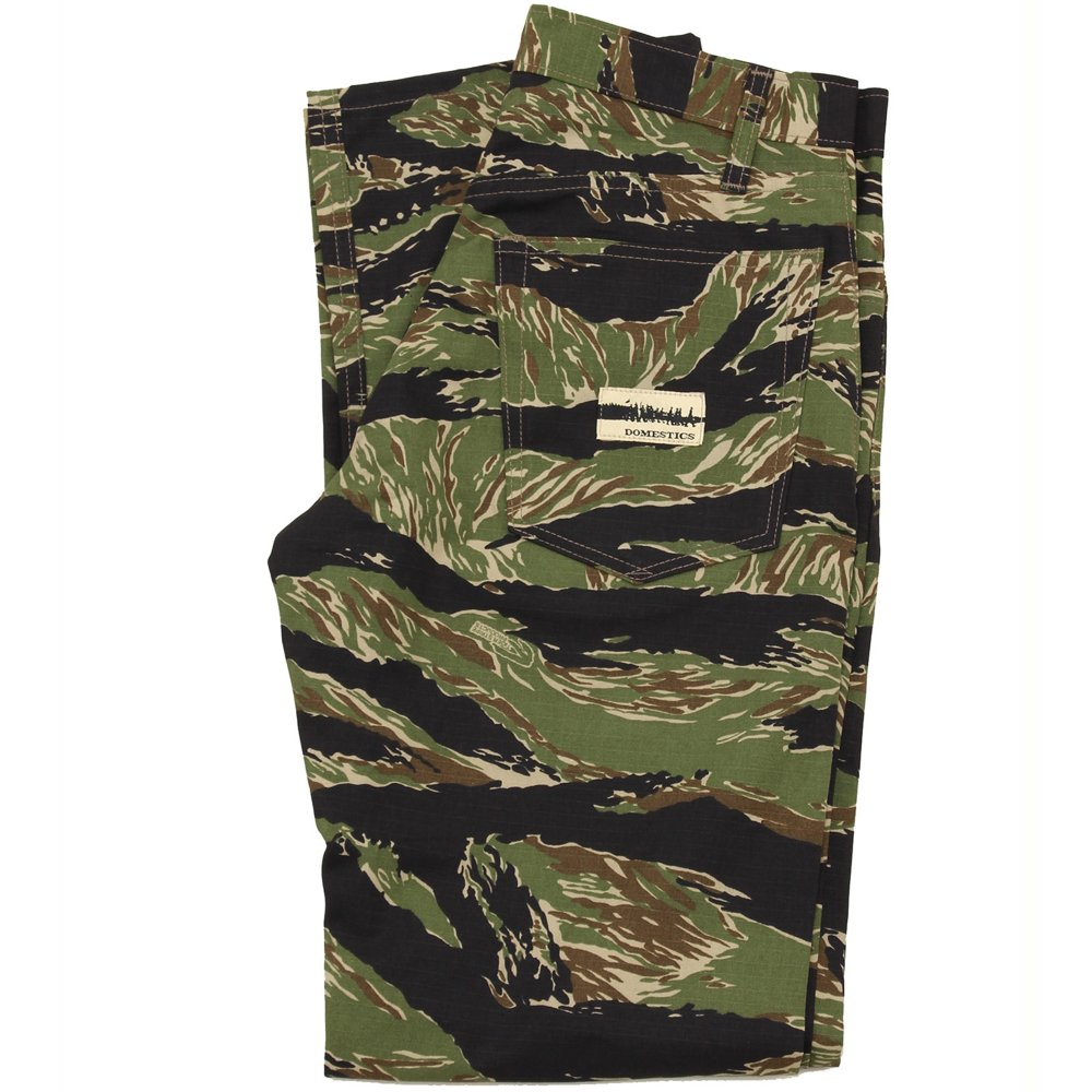 Tiger Stripe Camo Pant Blk/Grn (size options listed)