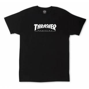 Toddler Thrasher Skate Mag S/S Tee Shirt Blk/Wht (size options listed)