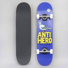 Pigeon Hero 2020 Mini Complete Skateboard 7.3