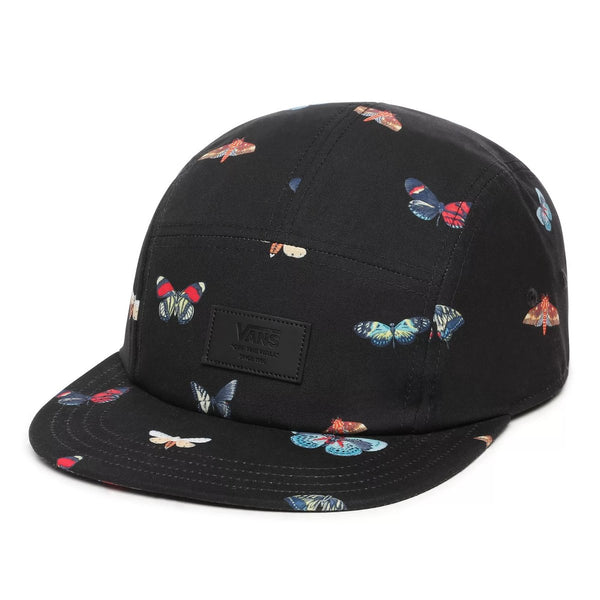 Davis 5 Panel Adjustable Hat Metamorph/Blk OS