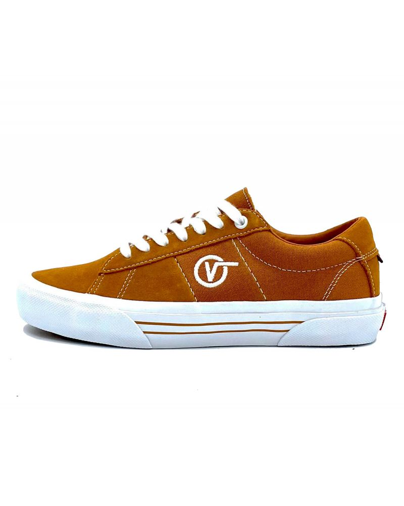 Skate Sid Shoe Pumpkin/Wht (size options listed)